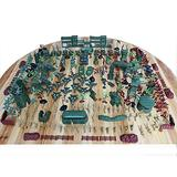 Military Toys Soldier Set Army Toys Soldiers Battle Group Figures Games for Army Military War Games Soldiers Military Playset with Map(310 Pieces)