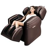 Massage Chairs by KTN, Zero Gravity Massage Chair, Full Body Massage Chair with Lower-Back Heating, Bluetooth Speaker and Foot Roller (Brown)