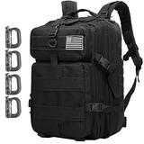 ATBP Military Tactical Molle Rucksack Backpack 35L Travel Backpack Hiking Daypack Camping Hunting Backpack