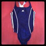 Adidas Swim   Adidas Sport Swimsuit Sz L   Color: Blue   Size: 38