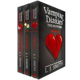 Vampire Diaries The Hunters Collection 3 Books Set by L. J. Smith (Phantom, Moonsong & Destiny Rising)