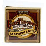 Ernie Ball 2010 12-string Light Earthwood 80/20 Bronze Acoustic Strings - .009-.046