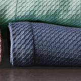 Manila Egyptian Cotton Blanket, King, Denim