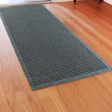 Squares Runner Mat 60 x 22, 60 x 22, Slate Blue