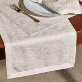 Peony Table Runner 14 x 90, 14 x 90, Light Taupe