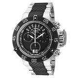 Invicta Men's Subaqua Noma III Quartz Diving Watch with Stainless Steel Strap, Black, 28 (Model: 31887)