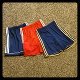 Adidas Bottoms | Hpadidas Youth Size 11-12 Soccer Shorts Bundle | Color: Blue/Red | Size: Youth 11-12