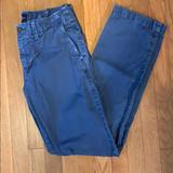 American Eagle Outfitters Pants | 30 X 34 American Eagle Blue Khaki Chinos Nwot | Color: Blue | Size: 30