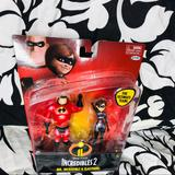 Disney Toys | 5 For $25| Incredibles2 Mr Incredible & Elastigirl | Color: Red | Size: 4 Inches