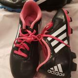 Adidas Shoes | Adidas Soccer Cleats Kids - Pink | Color: Black/Pink | Size: 3.5bb