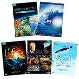 David Attenborough 19-Disc BBC Earth Nature Collection: Planet Earth (6-Disc Special Edition) / Blue Planet: Seas of Life (5-Disc Special Ed.) / Life (4-Disc) / Frozen Planet (3-Disc) / Life Stories