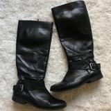 Nine West Shoes   Black Knee High Leather Boots   Color: Black   Size: 7