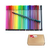 S & E TEACHER'S EDITION 240 Pcs Fine Tips Washable Markers, Assorted 24 Colors, Gift for Kids School Art Coloring Drawing