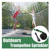 FPLHTOP Best Waterpark Trampoline System Hose Mister Kit Accessories, Summer Outdoor Activities Trampoline Water Sprinklers for Kids Adults Water Park Pool Toys Game (65)