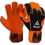 Select 03 Youth Protec V20 Soccer Goalie Gloves Black/Orange