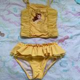 Disney Swim   Belle Yellow Swim Suit Disney Store   Color: Yellow   Size: 4tg