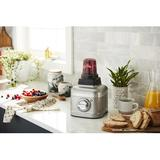 KitchenAid® K400 Variable Speed Blender w/ Personal Blender & Batch Jars in Gray, Size 15.8 H x 7.59 W x 9.02 D in | Wayfair KSB4043YCU