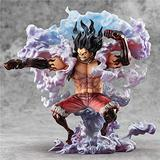 KaiWenLi ONE Piece Monkey D. Luffy Gear Fourth Anime Manga Character Model PVC Material Graphic Statue Collectibles/Decorations/Adult Toys/New Year Christmas Gifts