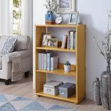 Latitude Run® Jimine Standard Bookcase Wood in Brown, Size 45.94 H x 29.53 W x 11.81 D in   Wayfair ED88DD7DB7004C5D840DDF68A0B3E551