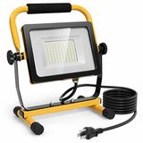 Costway 50W 5000lm LED Portable Outdoor Camping Work Light