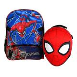 Boys Spider-Man Backpack with Molded Lunch Bag, Multicolor