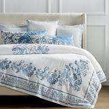 Aviana Bedding In Blue - Euro Pillow Sham, Pillow Shams - Frontgate