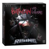 The Batman Who Laughs Rising   Cooperative Board Game   Featuring DC Comics Heroes and Villains - Wonder Woman, Green Lantern, Hawkgirl, Batman, Harley Quinn, The Flash, Cyborg   Licensed Batman Game