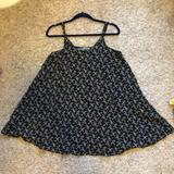 American Eagle Outfitters Dresses   Babydoll Dress   Color: Black/Tan   Size: One Size