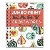 Sterling Entertainment Books - Jumbo Print Easy Crosswords #6