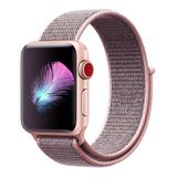 Prime Bands Replacement Bands - Pink Nylon Weave Sport Loop Apple Watch Replacement Band