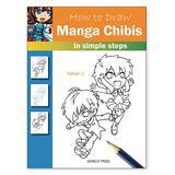 Penguin Random House Art Activity Books - How to Draw Manga Chibis in Simple Steps Activity Book