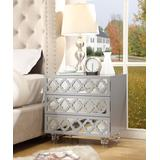 Inspired Home Nightstands Light - Light Gray Billie Nightstand