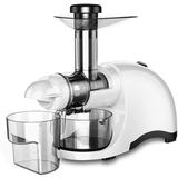 CAYNEL Greenis Horizontal Slow Masticating & Cold Press Juicer in White, Size 19.4 H x 15.3 W x 8.5 D in | Wayfair SJ44808