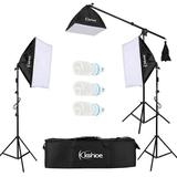 Ubesgoo Photography Softbox Lighting Kit Plastic, Size 31.5 H x 11.8 W x 7.9 D in | Wayfair wu1-G85000037
