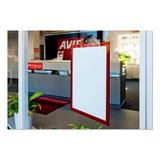 Durable Office Products Corp. Duraframe Sign Holder Plastic in Red, Size 12.0 H x 9.5 W x 0.031 D in | Wayfair 476803