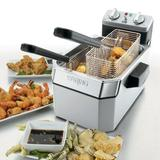 Waring Commercial Electric Fryer 5 Liter 3 Basket w/ Timer Stainless Steel in Gray, Size 12.0 H x 13.0 W x 17.0 D in | Wayfair WDF1000