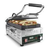 Waring Electric Grill & Panini Press Cast Iron in Gray | Wayfair WPG200