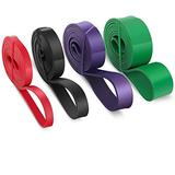 Trident Fitness Bands, Pull up resistance bands , Workout Bands Resistance , Assistance Bands, Cross fit Bands , Resistance bands for Workout, Set of 4.
