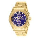 Invicta Men's Watches Gold - Blue & Goldtone 28682 Pro Diver Bracelet Watch