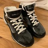 Adidas Shoes   Adidas Team Climacool Patent And Nubuck High Tops   Color: Black/White   Size: 8
