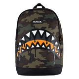 Hurley One and Only Graphic Crush Backpack, Med Green