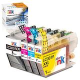 Starink Compatible Ink Cartridge Replacement for Brother LC3019 LC 3019 XXL Work for MFC-J5330DW MFC-J6530DW MFC-J6930DW MFC-J6730DW MFC-J5335DW Printer, 4 Packs