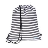 SCOUT Bags Backpacks - Black & White Oxford News Old School Drawstring Backpack