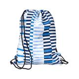SCOUT Bags Backpacks - Ripped Jeans Old School Drawstring Backpack