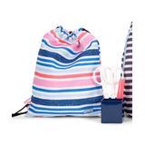 SCOUT Bags Backpacks - Pink & Blue Fun Dip Old School Drawstring Backpack
