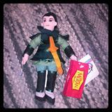 Disney Other | Disney Collectible Mulan Warrior Bean Bag | Color: Black/Green | Size: Osg