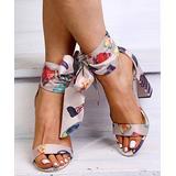 PAOTMBU Women's Sandals apricot - Apricot Cosmetics Side-Tie Pump - Women