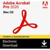 Adobe Acrobat Pro Student / Teacher Edition 2020 (Mac, Download) 65312077