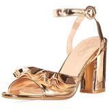 Yoki womens Comfort Pump, Rose Gold, 8 US