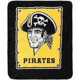 The Northwest Company Pittsburgh Pirates 50'' x 60'' Wanted Raschel Plush Throw Blanket